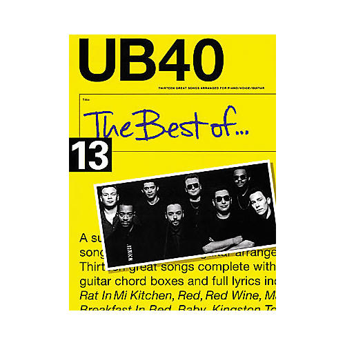 Hal Leonard The Best of UB40 Songbook