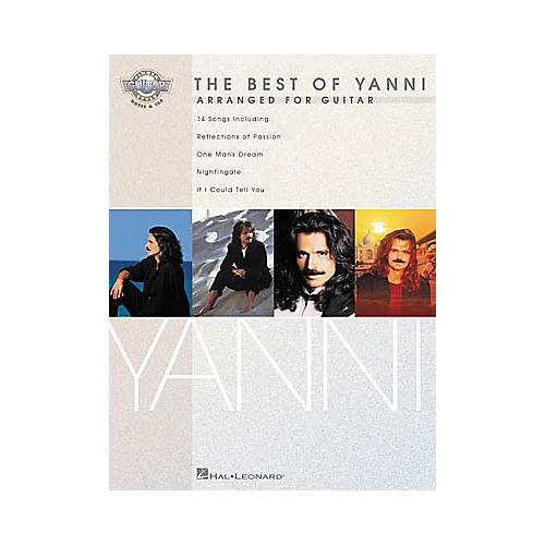 Hal Leonard The Best of Yanni Fingerstyle Guitar Tab Songbook-thumbnail