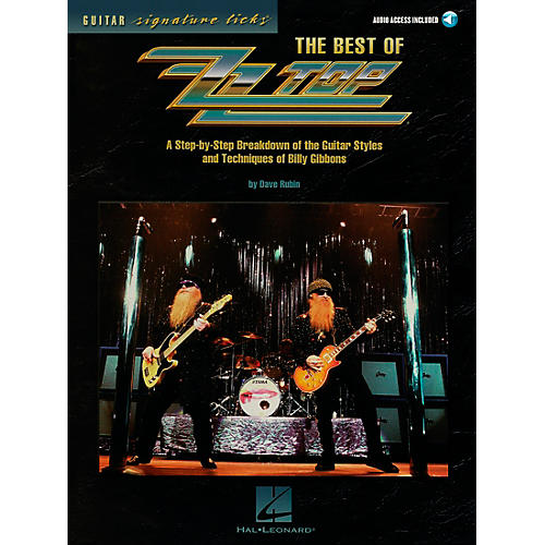 Hal Leonard The Best of ZZ Top Guitar Signature Licks Book with CD