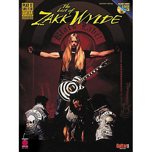 Hal Leonard The Best of Zakk Wylde Book with CD