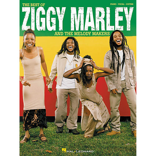 Hal Leonard The Best of Ziggy Marley and the Melody Makers Piano/Vocal/Guitar Songbook