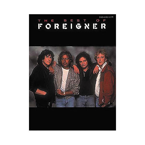 Hal Leonard The Best of foreigner Songbook