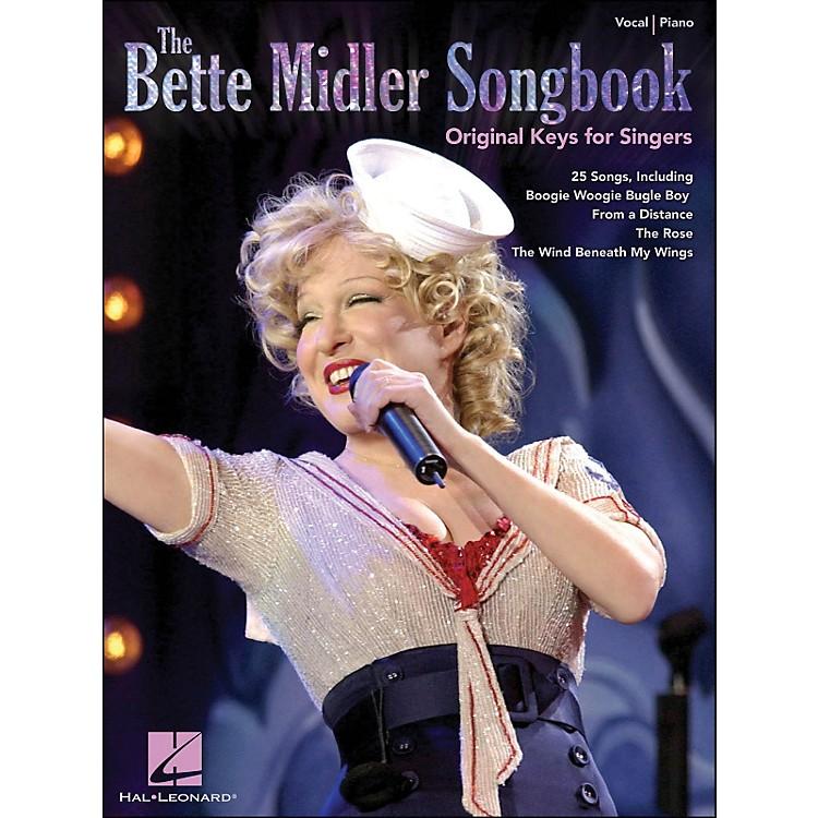 Hal LeonardThe Bette Midler Songbook Original Keys for Singers