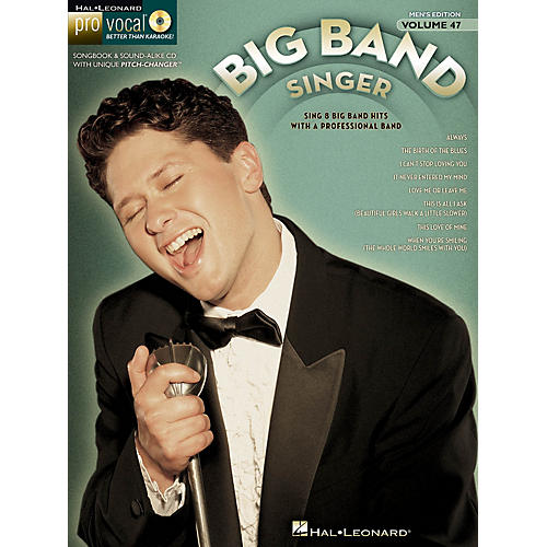 Hal Leonard The Big Band Singer (Pro Vocal Men's Edition Volume 47) Pro Vocal Series Softcover with CD by Various-thumbnail