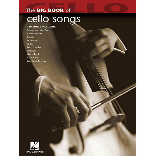 Hal Leonard The Big Book Of Cello Songs