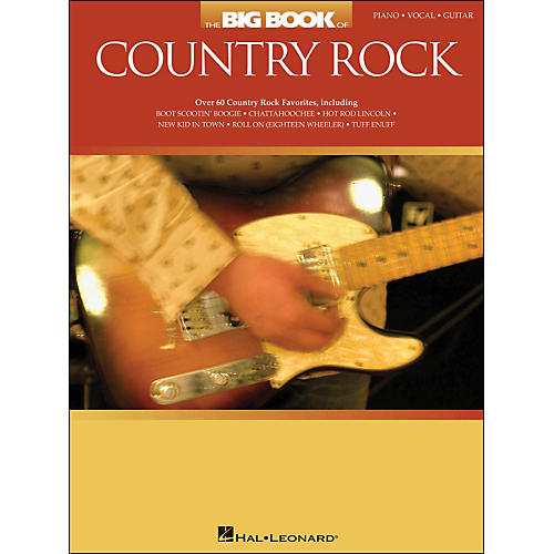 Hal Leonard The Big Book Of Country Rock arranged for piano, vocal, and guitar (P/V/G)-thumbnail
