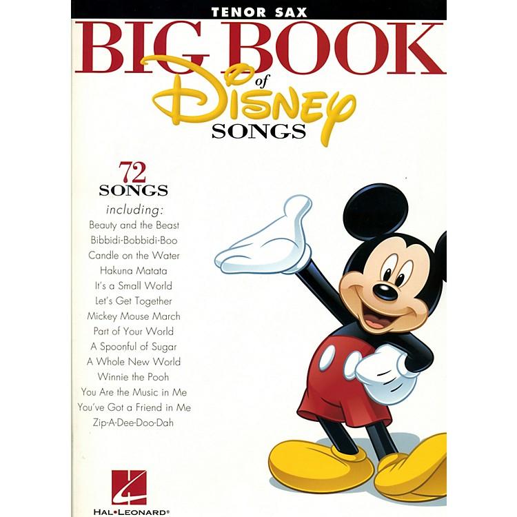 Hal LeonardThe Big Book Of Disney SongsClarinet