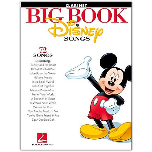 Hal Leonard The Big Book Of Disney Songs–Clarinet-thumbnail