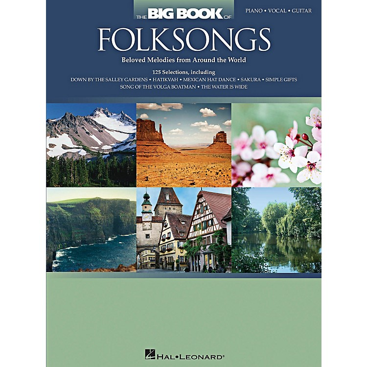 Hal Leonard The Big Book Of Folksongs for Piano/Vocal/Guitar