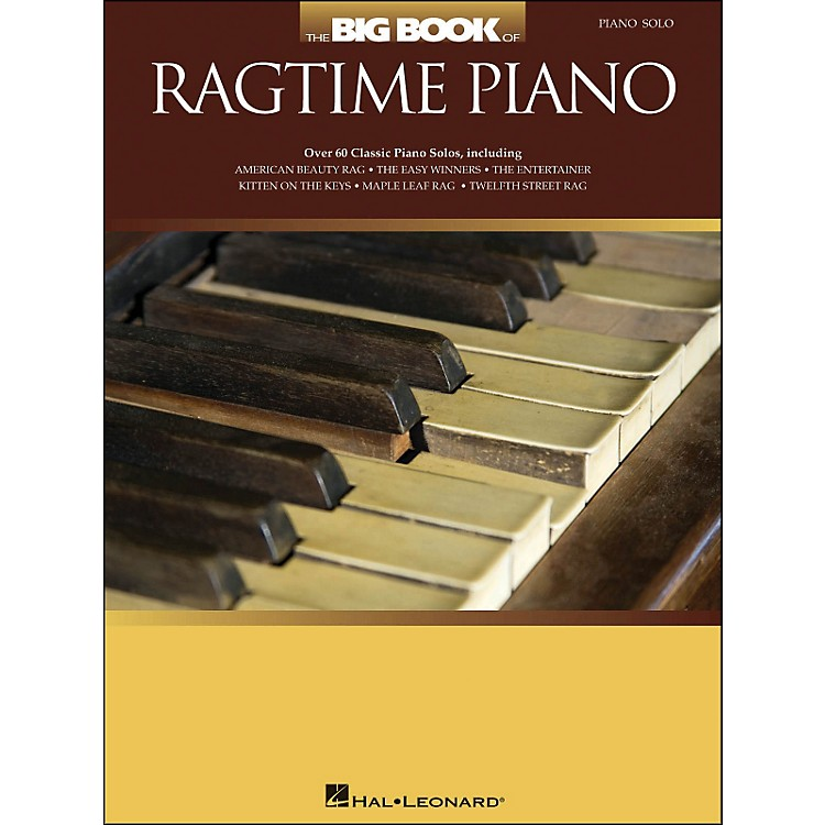 Hal Leonard The Big Book Of Ragtime Piano - arranged for piano solo