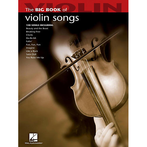 Hal Leonard The Big Book Of Violin Songs