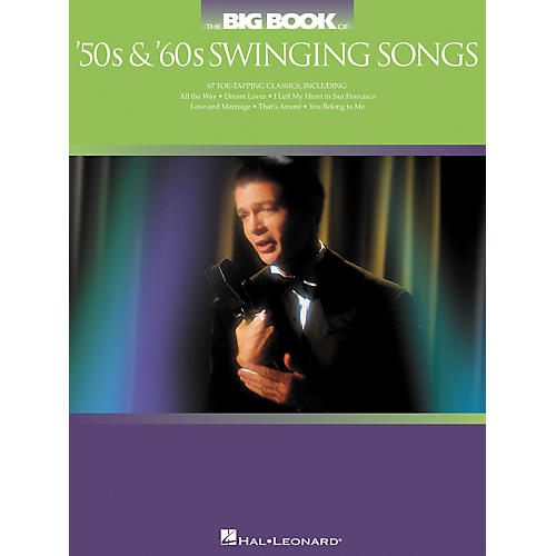 Hal Leonard The Big Book of '50s and '60s Swinging Songs Songbook-thumbnail