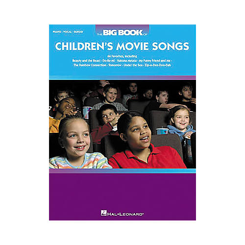 Hal Leonard The Big Book of Children's Movie Songs