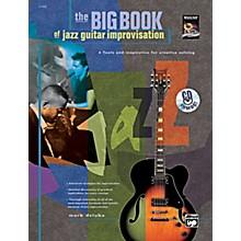 Alfred The Big Book of Jazz Guitar Improvisation Book & CD