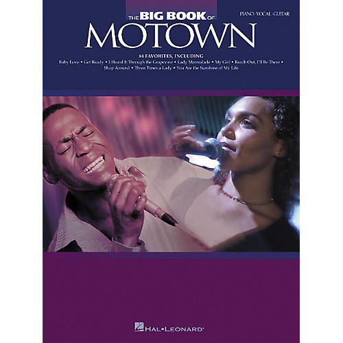 Hal Leonard The Big Book of Motown Songbook-thumbnail