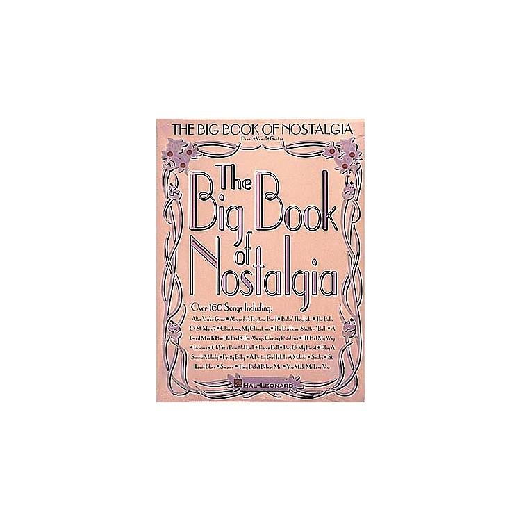 Hal LeonardThe Big Book of Nostalgia Piano, Vocal, Guitar Songbook