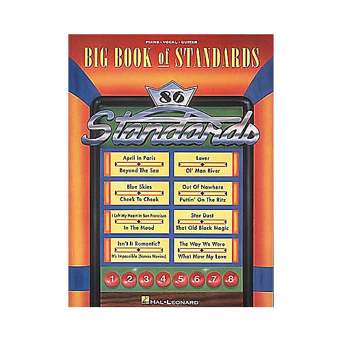 Hal Leonard The Big Book of Standards Songbook-thumbnail