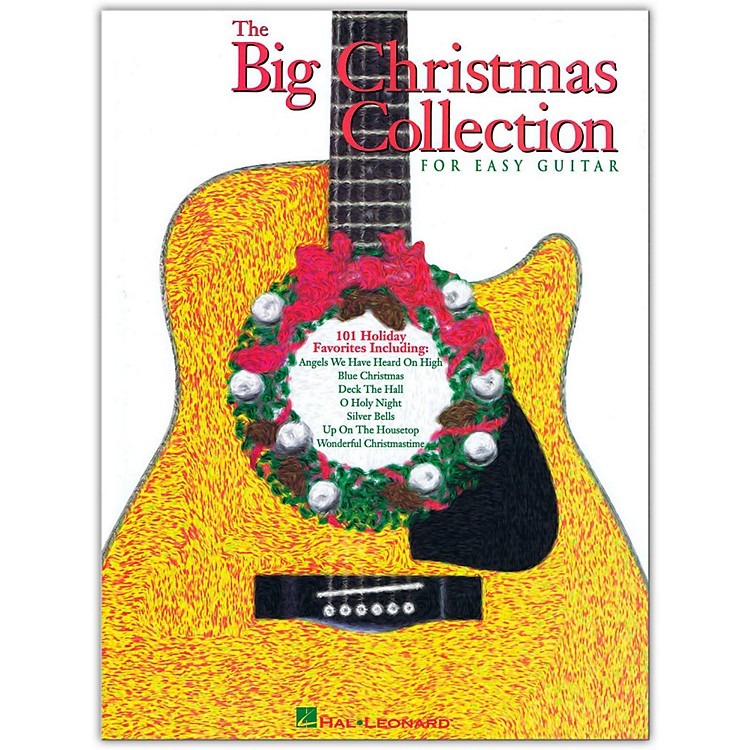 Hal Leonard The Big Christmas Collection Easy Guitar Tab Songbook