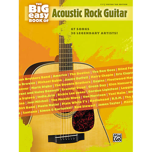 Hal Leonard The Big Easy Book of Acoustic Guitar Tab