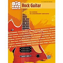 Alfred The Big Easy Book of Rock Guitar Tab