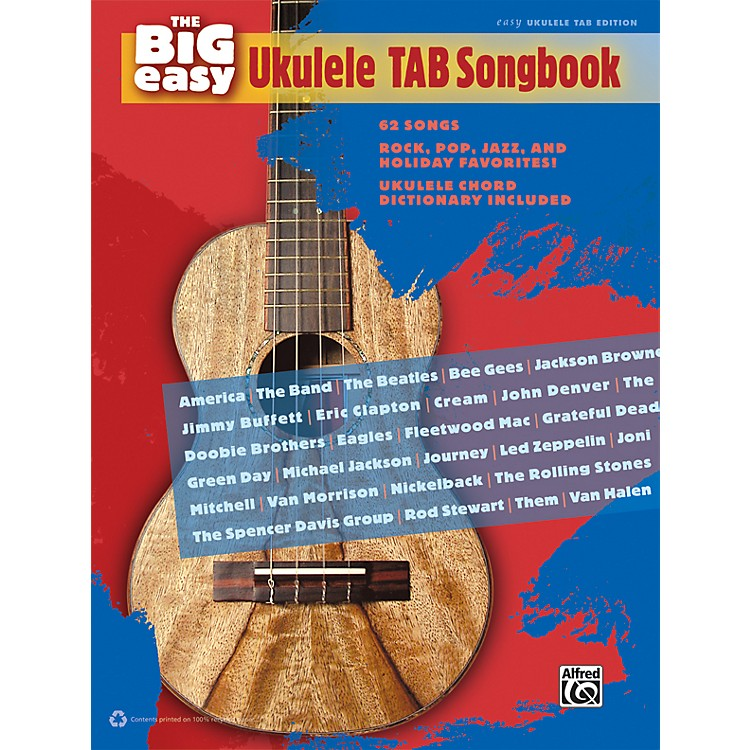 AlfredThe Big Easy Ukulele TAB Songbook