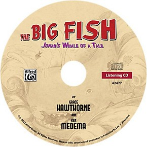 Alfred the big fish christian elementary musical bulk cd for Big fish musical soundtrack