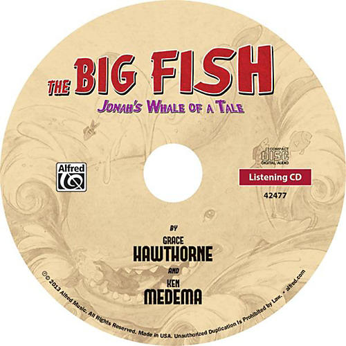 Alfred The Big Fish - Christian Elementary Musical Listening CD-thumbnail