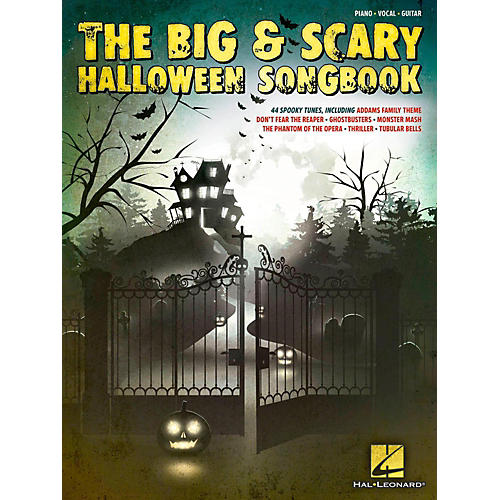 Hal Leonard The Big & Scary Halloween Songbook for Piano/Vocal/Guitar