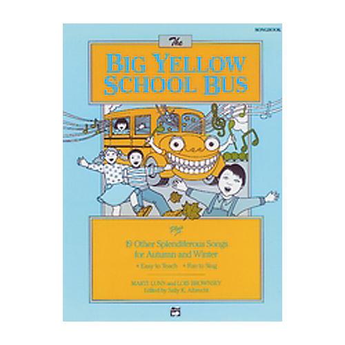Alfred The Big Yellow School Bus Lyric/Activity Book-thumbnail