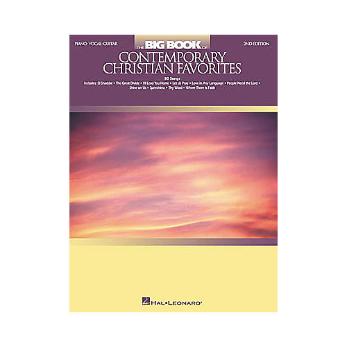 Hal Leonard The Big of Contemporary Christian Favorites 2nd Edition Piano, Vocal, Guitar Songbook-thumbnail