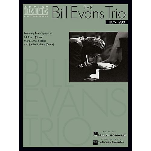 Hal Leonard The Bill Evans Trio - 1979-1980 Artist Transcriptions Series Performed by Bill Evans-thumbnail