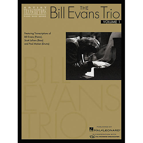 Hal Leonard The Bill Evans Trio Volume 1 1959-1961 Transcribed Scores Book