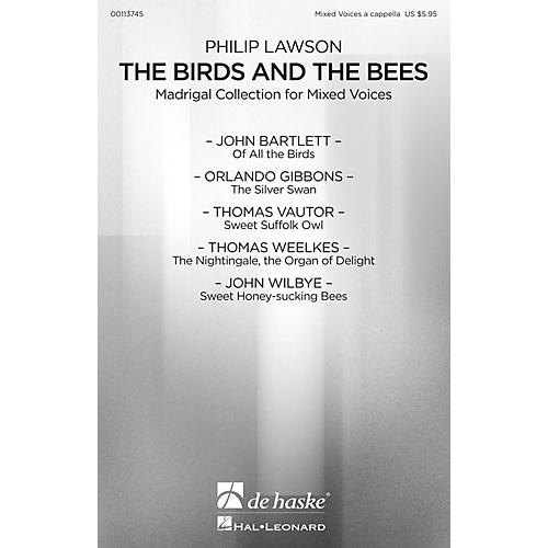 De Haske Music The Birds and the Bees (Madrigal Collection for Mixed Voices) A CAPPELLA MIXED by Philip Lawson-thumbnail
