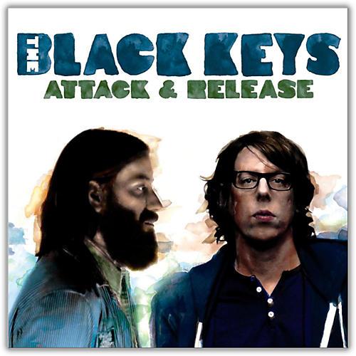 WEA The Black Keys - Attack & Release (with Bonus CD) Vinyl LP-thumbnail