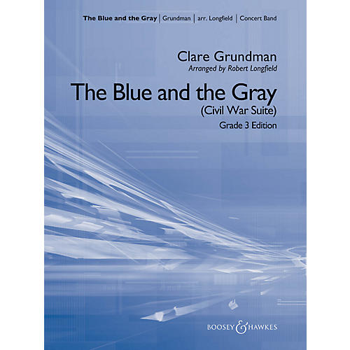 Hal Leonard The Blue And The Gray (Young Band Edition) - Boosey & Hawkes Concert Band Level 3-thumbnail