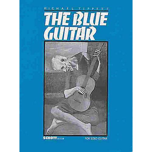 Schott The Blue Guitar (Sonata for Guitar (1982-83)) Schott Series-thumbnail