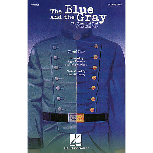 Hal Leonard The Blue and the Gray (Choral Suite) 2-Part Arranged by Roger Emerson-thumbnail