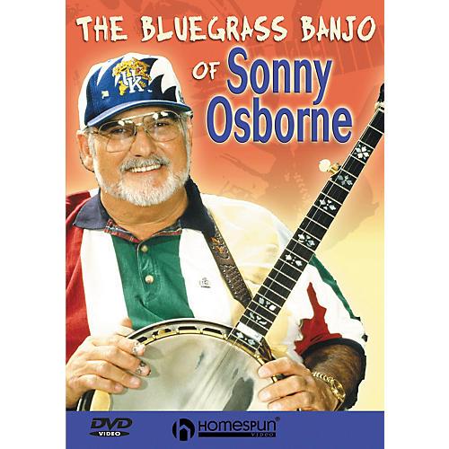 Homespun The Bluegrass Banjo of Sonny Osborne Banjo (DVD)-thumbnail