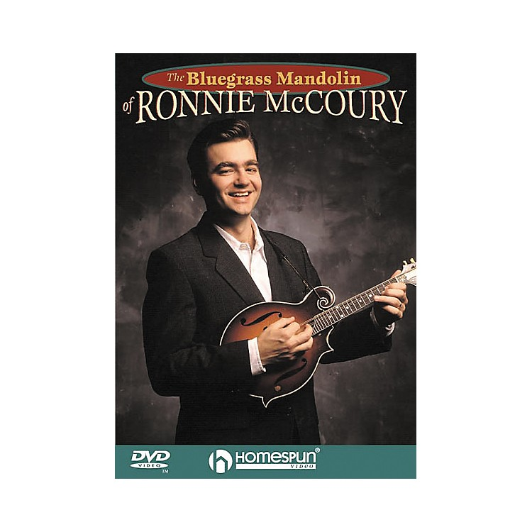 HomespunThe Bluegrass Mandolin of Ronnie McCoury (DVD)