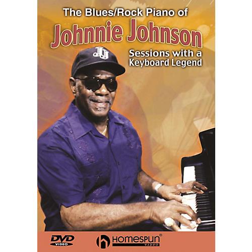 Homespun The Blues/Rock Piano of Johnnie Johnson Homespun Tapes Series DVD Written by Johnnie Johnson-thumbnail