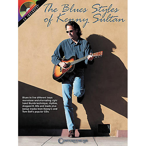 Centerstream Publishing The Blues Styles of Kenny Sultan (Book/CD)-thumbnail