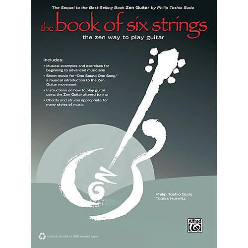 Alfred The Book of Six Strings (2nd Edition) Book & CD