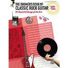 Alfred The Boomer's Book of Classic Rock Guitar '60s - '70s Easy Guitar TAB