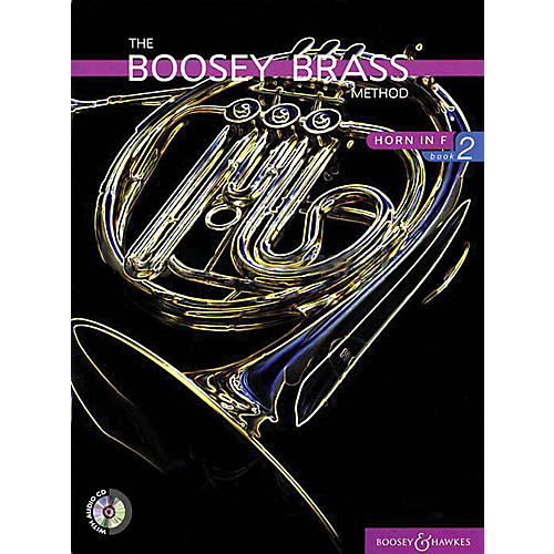 Boosey and Hawkes The Boosey Brass Method (Horn in F - Book 2) Concert Band Composed by Various Arranged by Chris Morgan-thumbnail