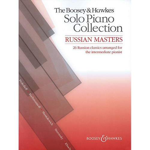 Hal Leonard The Boosey & Hawkes Solo Piano Collection:  Russian Masters