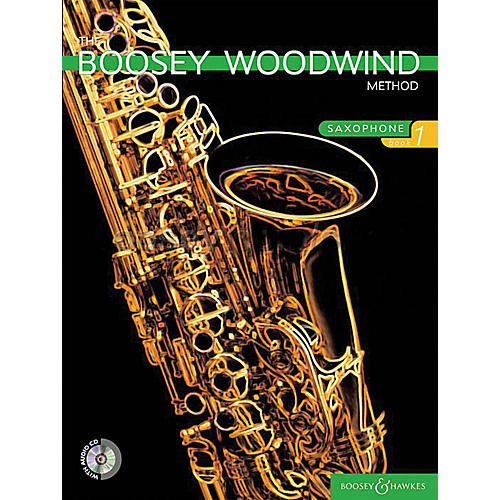 Boosey and Hawkes The Boosey Woodwind Method (Saxophone - Book 1) Concert Band Composed by Various Arranged by Chris Morgan-thumbnail