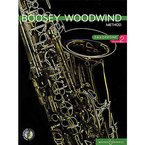 Boosey and Hawkes The Boosey Woodwind Method (Saxophone - Book 2) Concert Band Composed by Various Arranged by Chris Morgan-thumbnail
