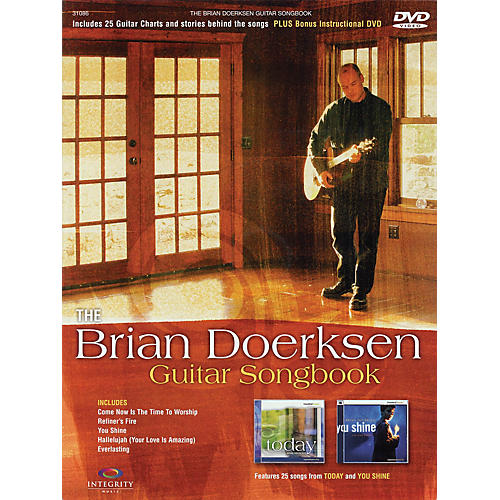 Integrity Music The Brian Doerksen Guitar Songbook Integrity Series Softcover with DVD Performed by Brian Doerksen-thumbnail