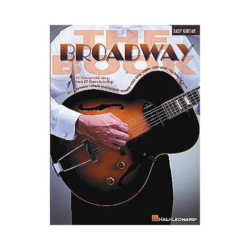 Hal Leonard The Broadway Easy Guitar Book