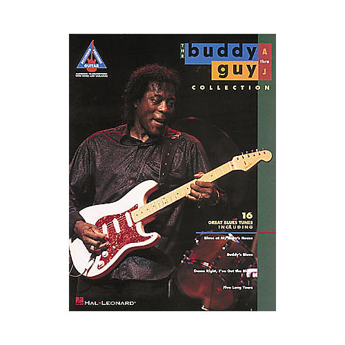 Hal Leonard The Buddy Guy Collection Volume 1 A-J Guitar Tab Songbook-thumbnail